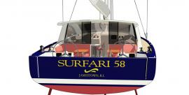 Surfari 53 Transom up