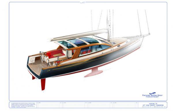 Surfari 53 Performance Motorsailer